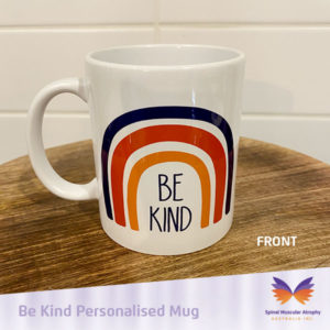 SMA Be Kind Personalised Mug