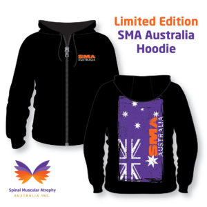 Limited Edition SMA Australia Zip-Up Hoodie