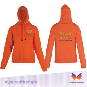 SMA Army Orange Hoodie