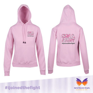 SMA Army Pink Hoodie