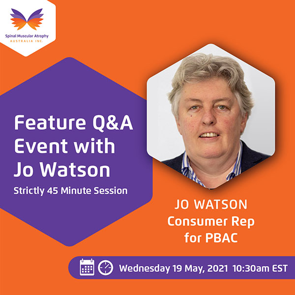 Feature Q and A with Jo Watson