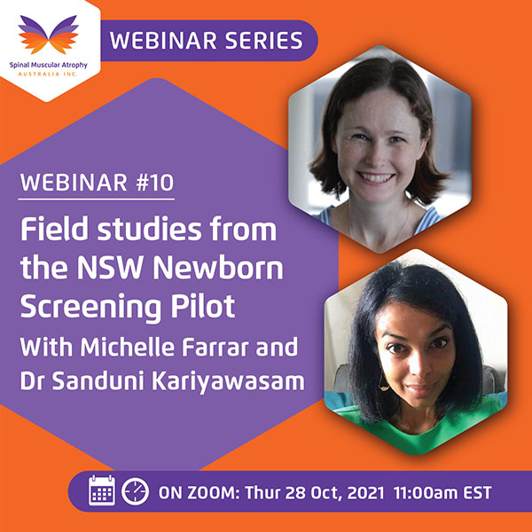 SMA Webinar Series Number 10: Field Studies from the Newborn Screening Pilot